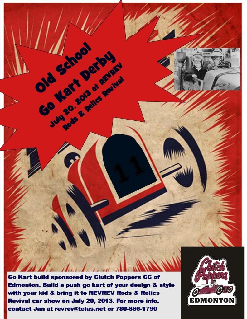go kart poster