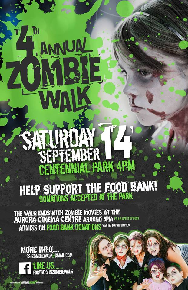 Zombie Walk Official Poster