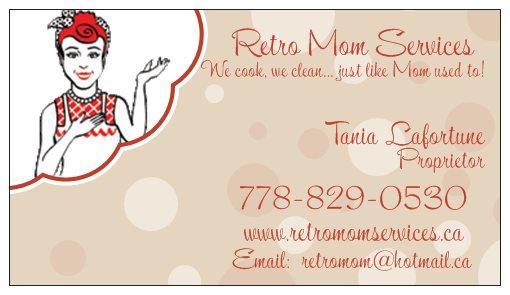 Retro Mom Services