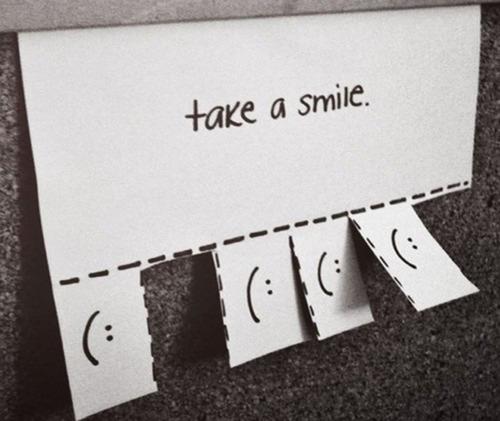 Smiles are always free..!